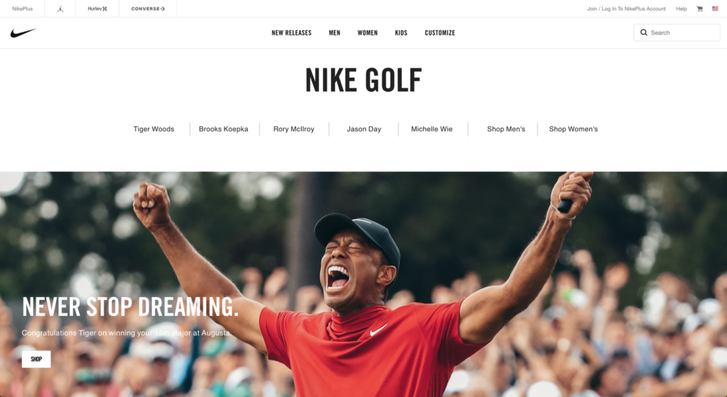 Nike – Shop Tiger's Outfits