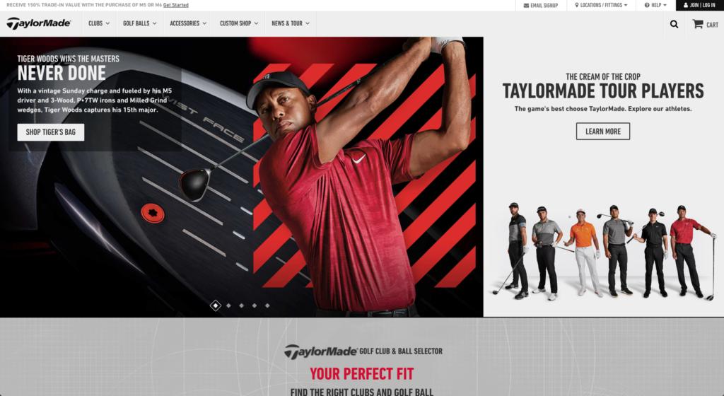 Taylormade – Shop Tiger's Bag
